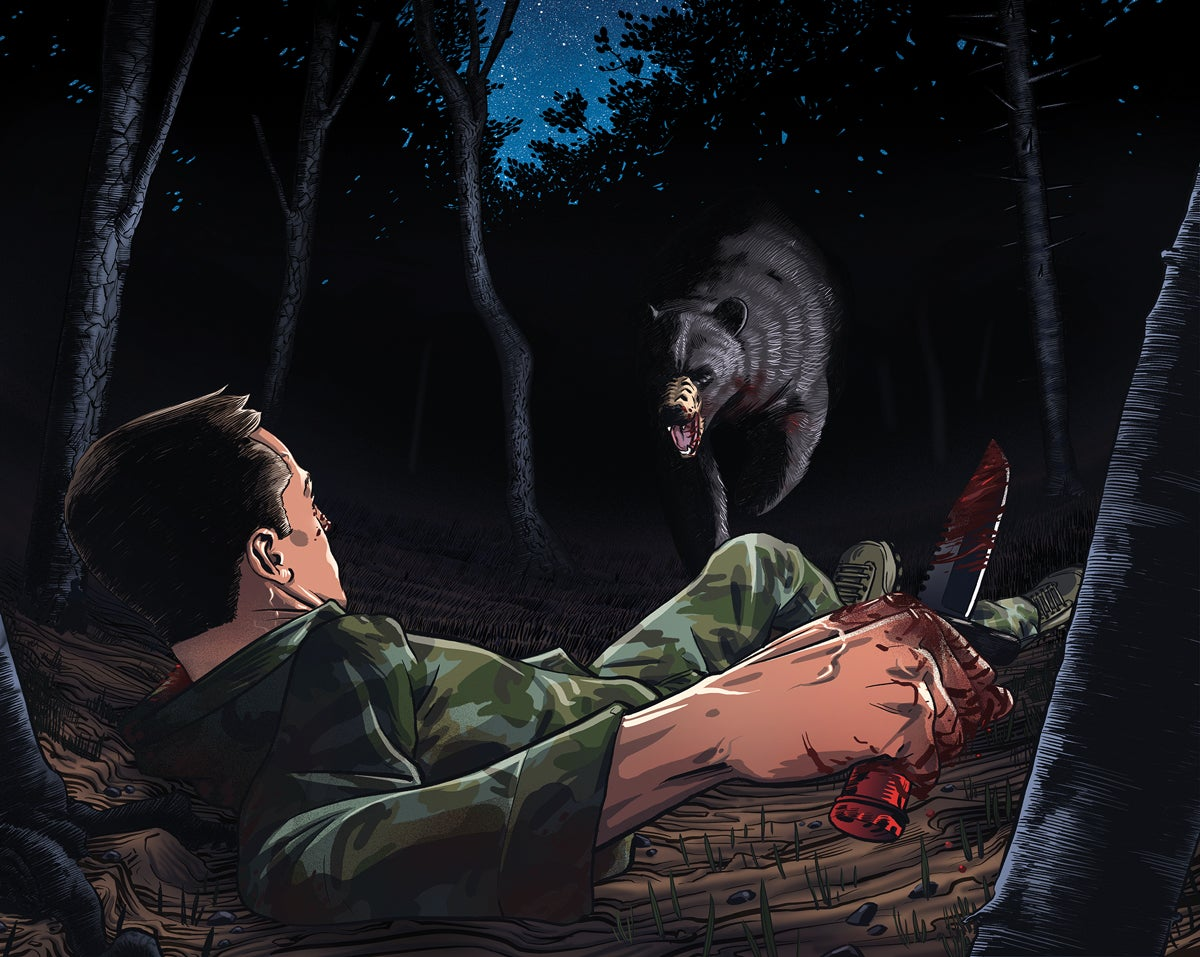 Mauled: A Fight to the Death with a Black Bear