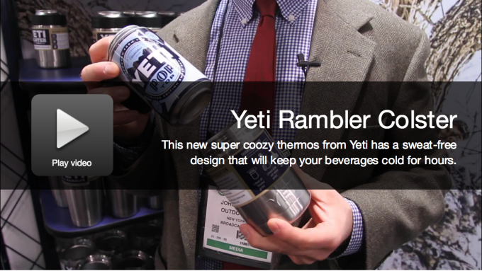 New Camping Gear: Yeti Rambler Colster Coozy