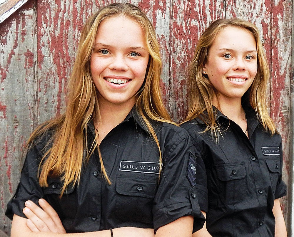 women, twins, baseley, morgan, mason, guns, girls, teens, hunting, shooting, F&S, cover story