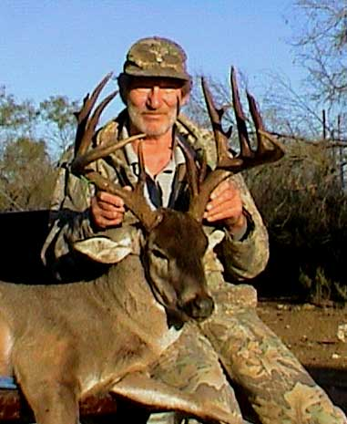 Charley Holloway shot this monster just west of Uvalde, Texas in early January of 2007.