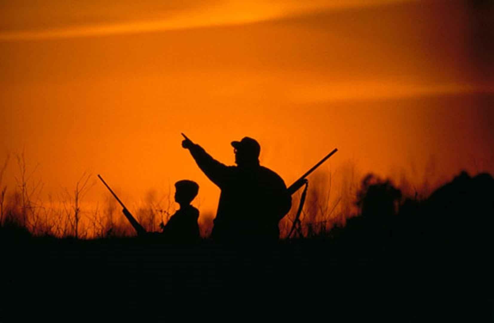 taking kids hunting
