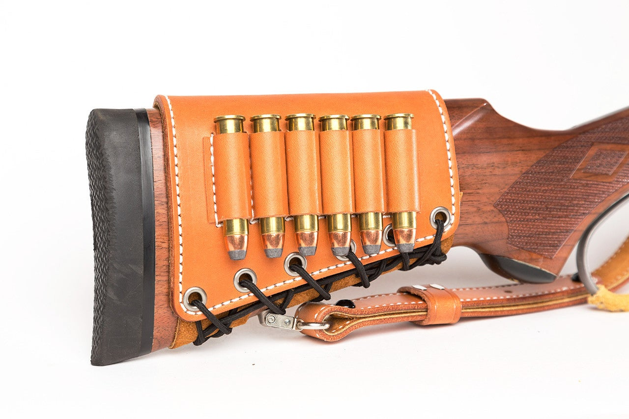 Gear for Shooters: The Rifle Butt Cuff and Leather Sling from Diamond D