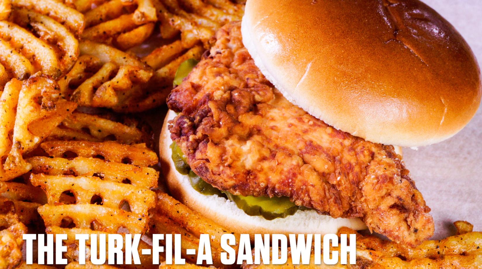 Video: How to Make a Turk-Fil-A Sandwich