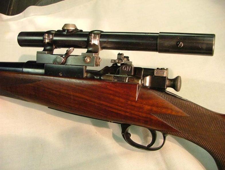 owen springfield rifle receiver