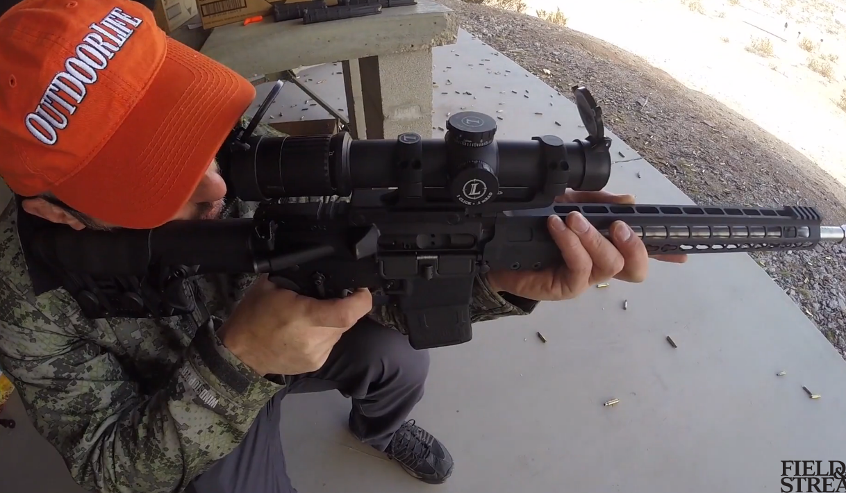 New Competition Gun: Armalite 3-Gun Rifle