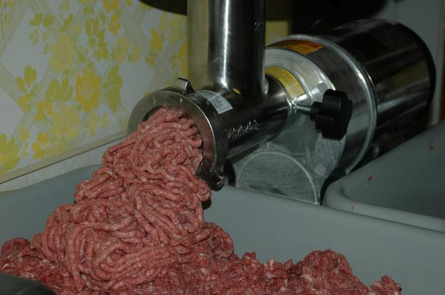 You don't need to add fat to your ground game meat to make it taste good.