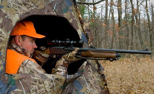 Late-Season Deer Hunting Tip: Set Up a Ground Blind