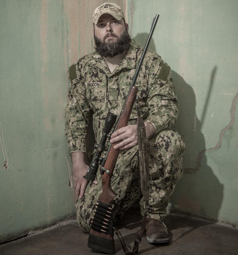 camo hunter, military hunter, veteran hunter, PTSD, former soldier, Ryan Rigdon