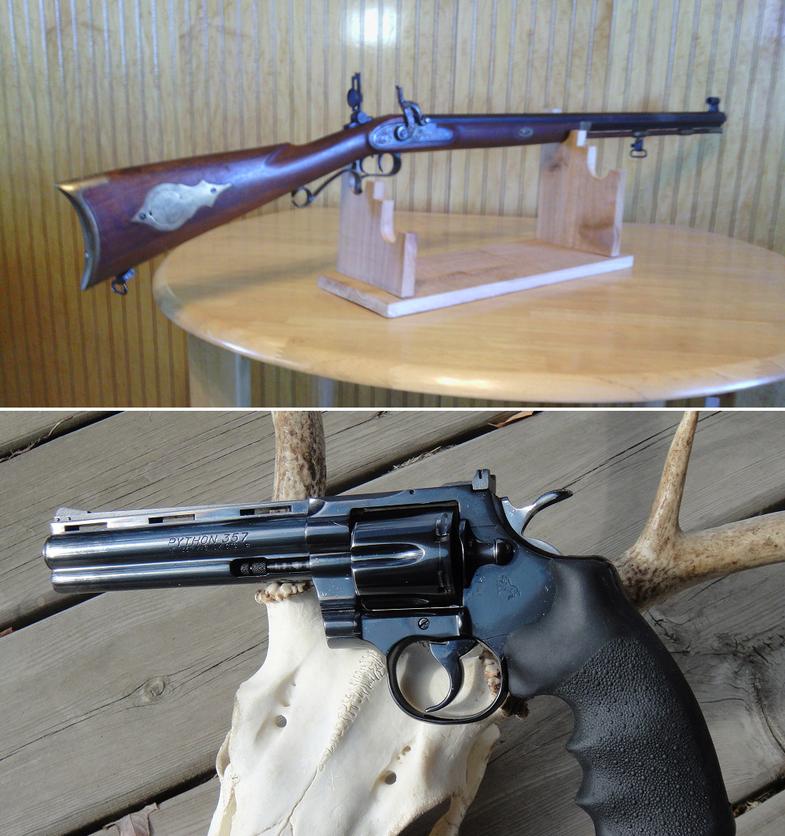 Gun Fight Friday: Deer Guns: .50 Hawken vs. .357 Python