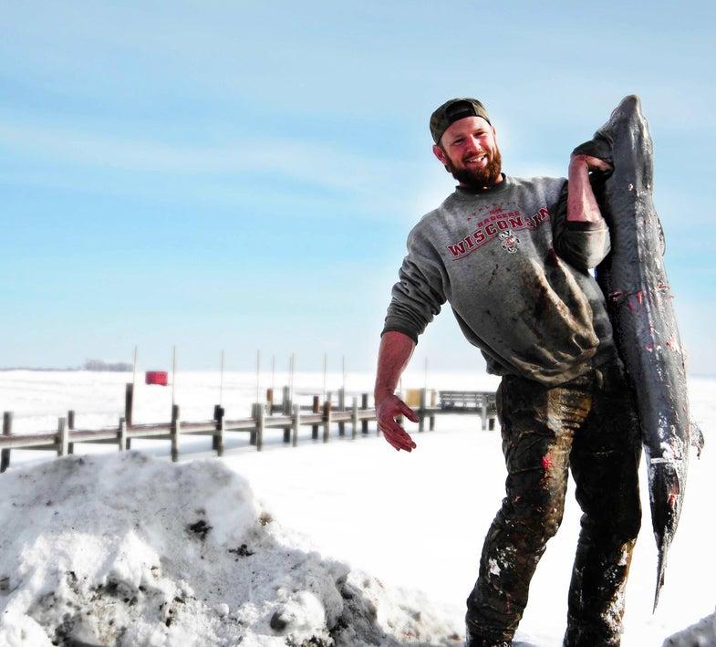 sturgeon fisherman