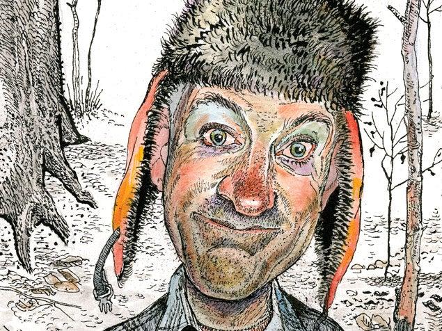 Jack Unruh illustration of Bill Heavey