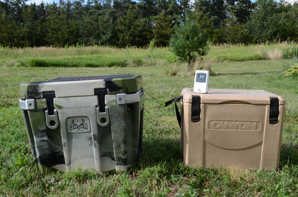 Cooler Test: Orion 25 vs. Canyon Outfitter 22