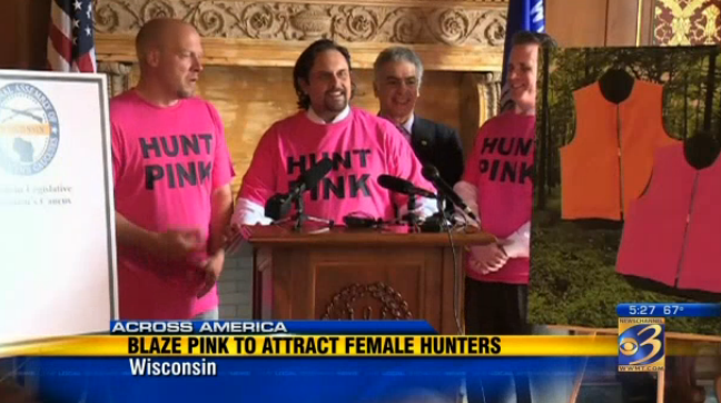 Wisconsin May Legalize Blaze Pink to Encourage Women to Hunt