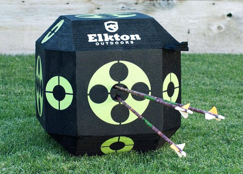 Elkton Outdoors reusable archery target