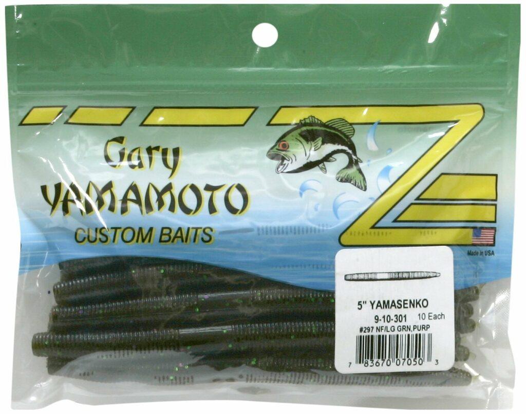 "Details about  /JDC Gibroni 10ct 5/""  Senko Style Stick Bait Wacky Worms Salt Scent Earthworm"