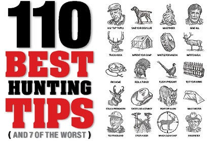 110 Best Hunting Tips