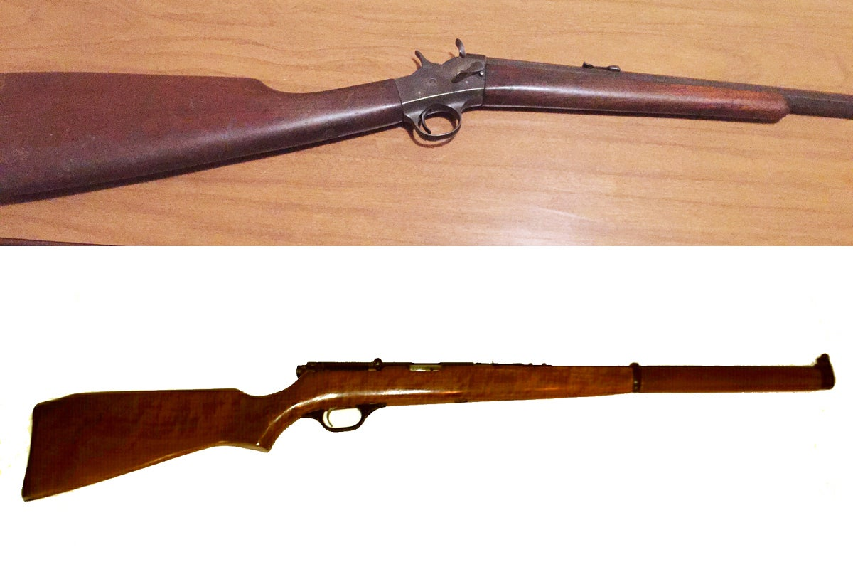 rimfire rifles, guns, single-shot rifles,