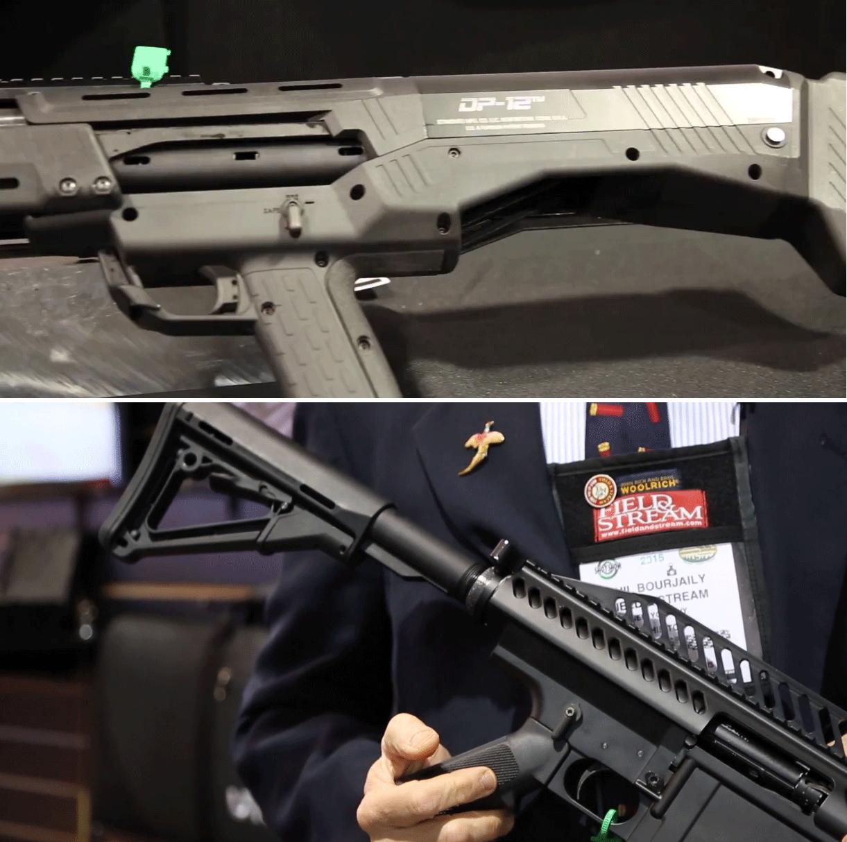 Tactical Gun Fight: UTAS UTX 12 vs Standard Manufacturing DP 12
