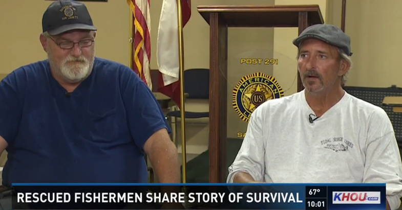 Lost Texas Anglers Survive Two Days at Sea