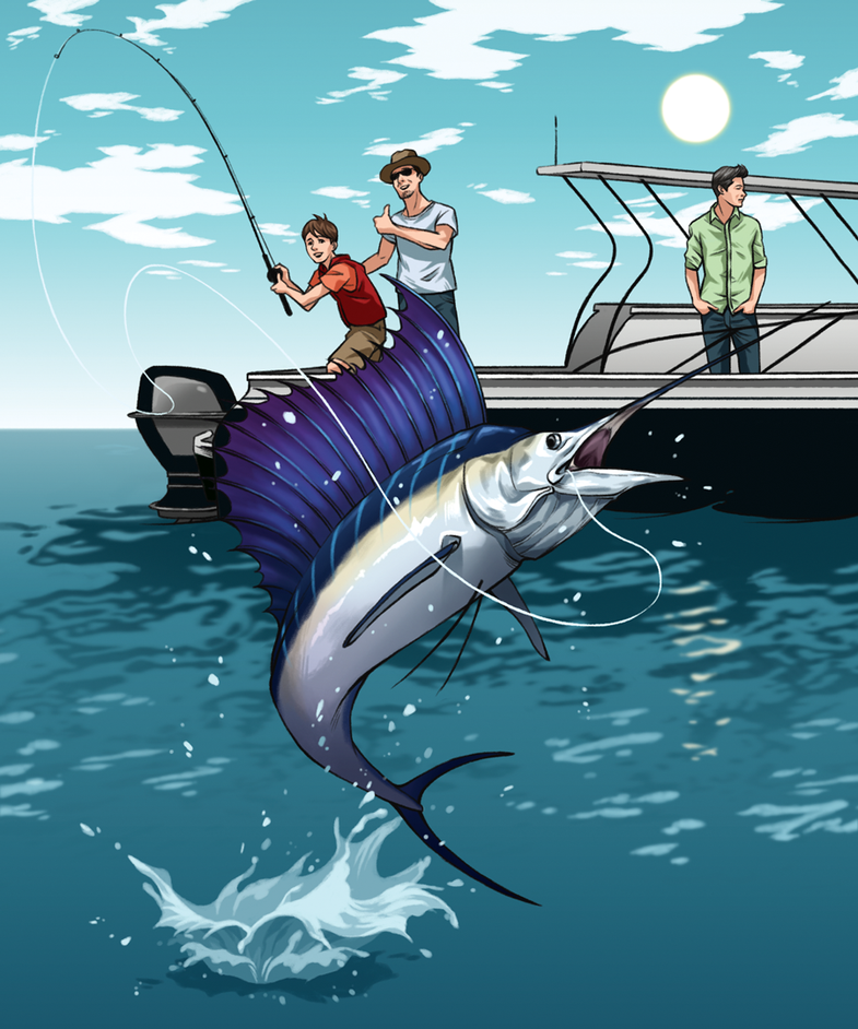 All Keyed Up: Chasing Key West Sailfish
