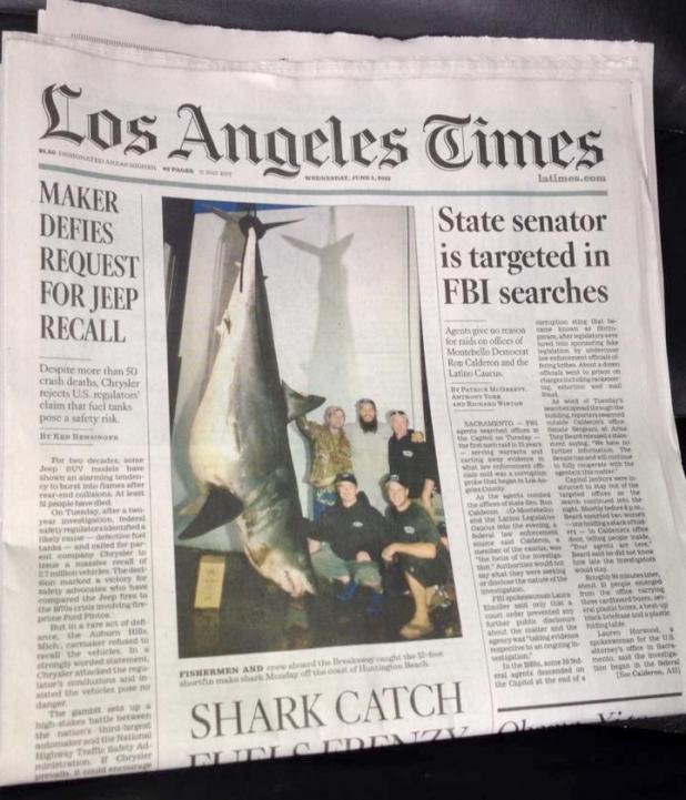 httpswww.fieldandstream.comsitesfieldandstream.comfilesimport2014importArticleembedLA_Times_Mako_Front_Page.jpg