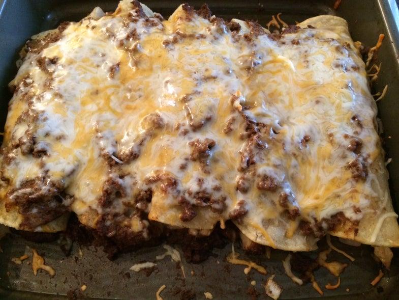 Turkey Enchiladas: My Favorite Thanksgiving Leftover Meal
