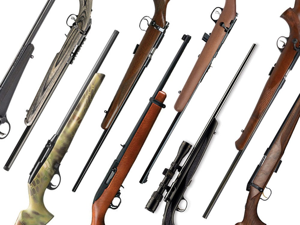 best squirrel hunting rifles