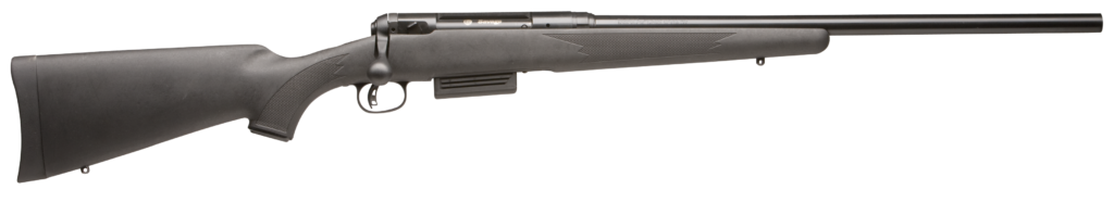 Savage 220 rifle on a white background.