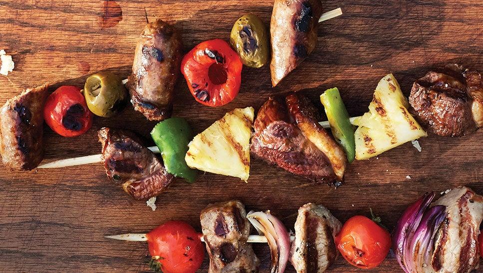 grilled kebab recipe