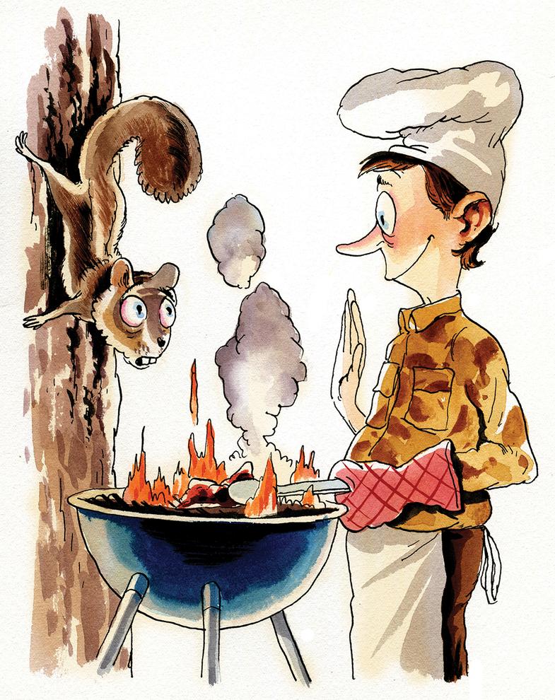 World Champion Squirrel Cook Off