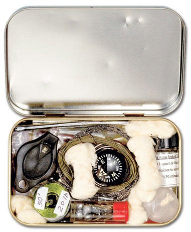How To: Make a Survival Kit out of an Altoids Tin (and Two More Lifesaving DIY Projects)