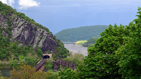 Smallmouth Fishing at Harpers Ferry