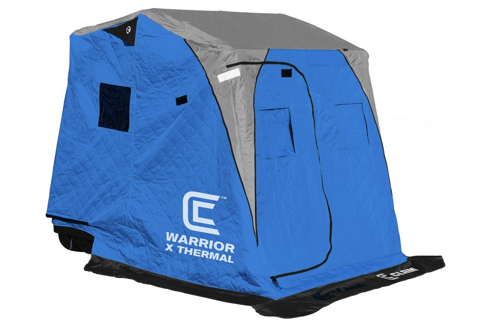 Clam Warrior X Thermal Ice Shelter
