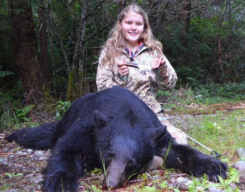 bear, maegan weiler, blind, bear, 300 pounds, washington