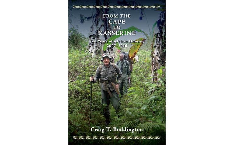 Craig Boddington book, African safari, trade edition