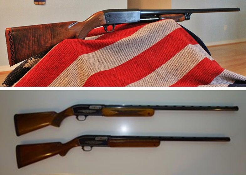browning, ithaca 37, browning automatic, shotguns, shooting,