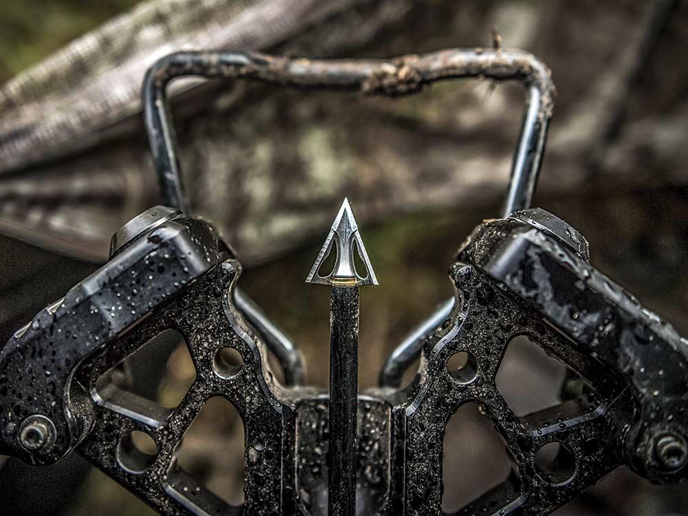 loaded crossbow bolt