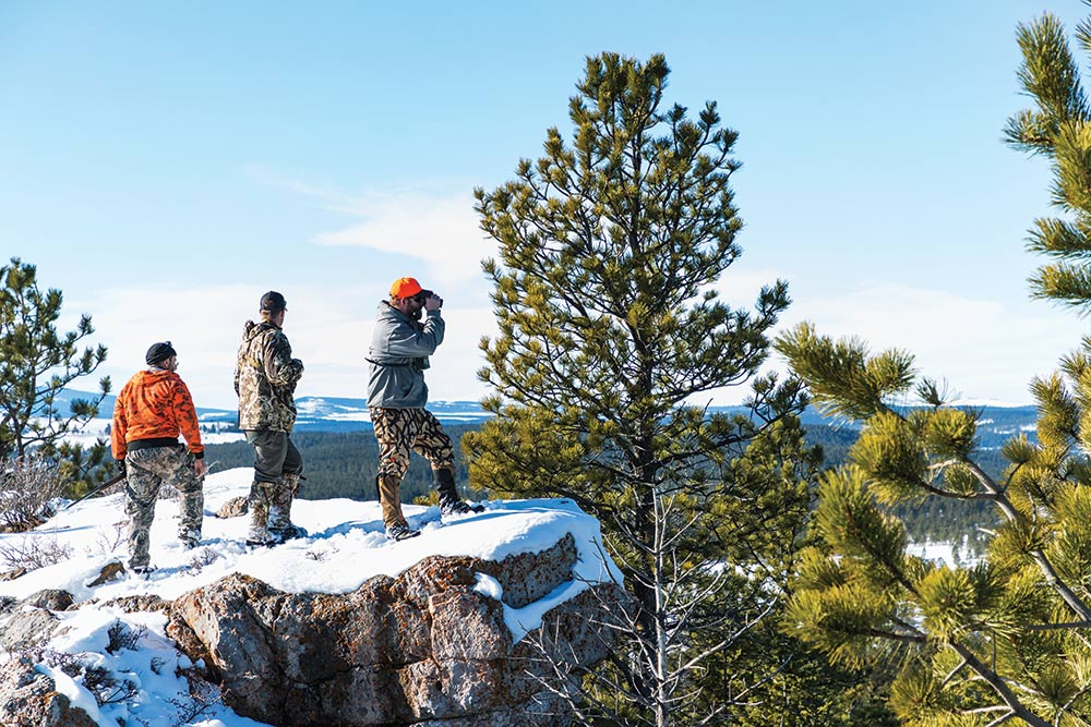 hunters glassing durfee hills
