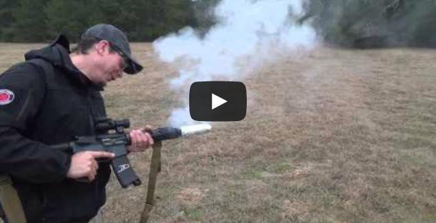 Video: Frying Bacon on a Gun Barrel