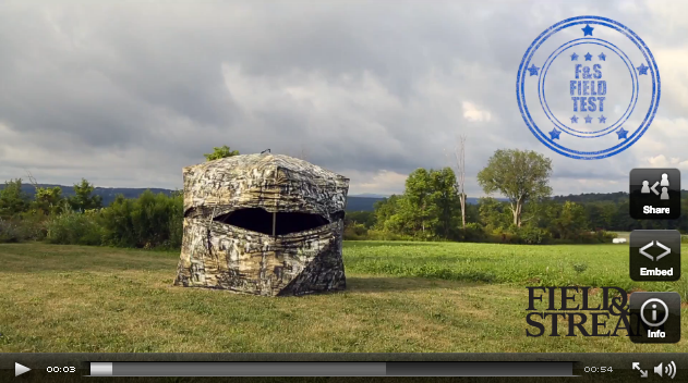 New Ground Blind: The Primos Double Bull Deluxe
