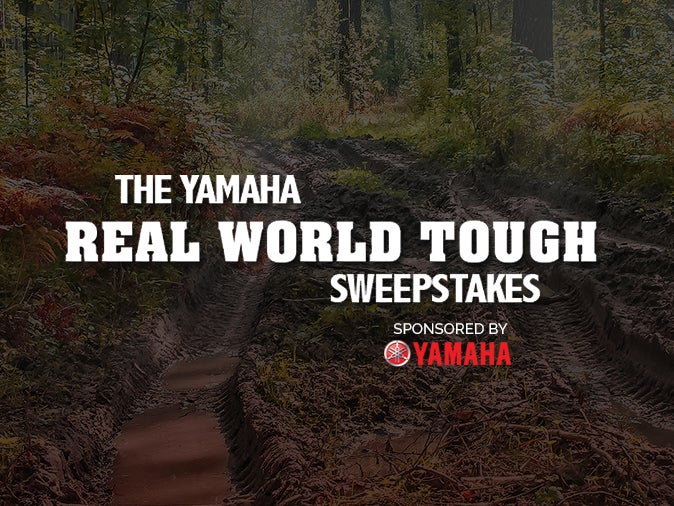 Official Rules 2016 Yamaha Real World Tough Sweepstakes