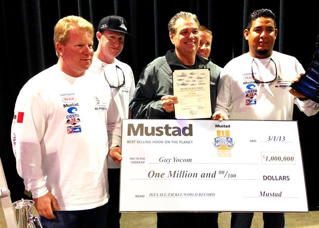 World-Record Yellowfin Tuna: Angler Wins $1M Prize from Mustad