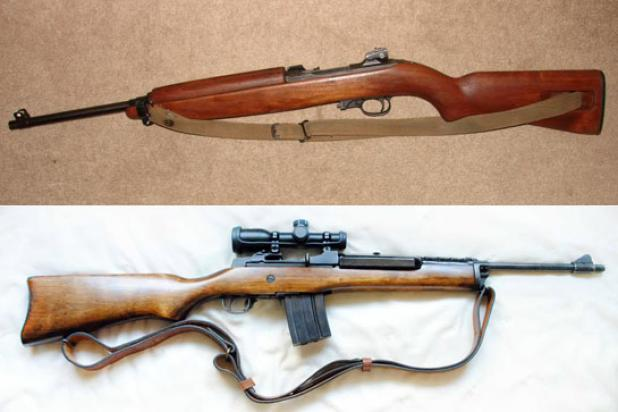 Gunfight Friday: Mini-14 vs M1 Carbine