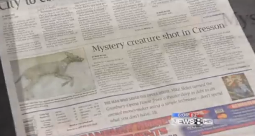 Chupacabra Captured on Police Video in Texas?