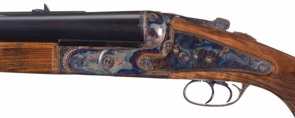 Ken Owen 4-bore rifle receiver, action