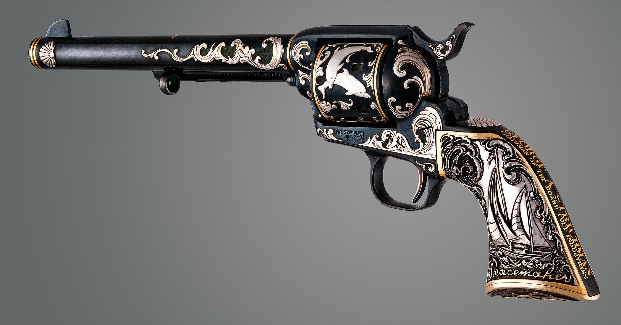 The Elegant Firearms of Tiffany & Co.
