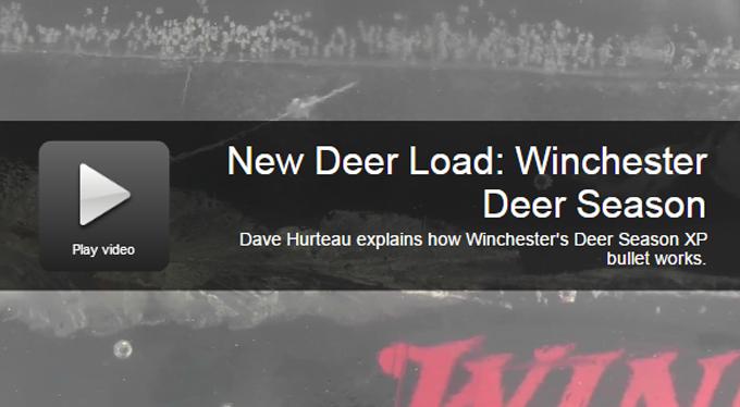 New Rifle Load: Winchester Deer Season XP