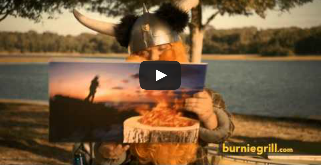 One Awesome Portable Fire, One Really Awkward Commercial