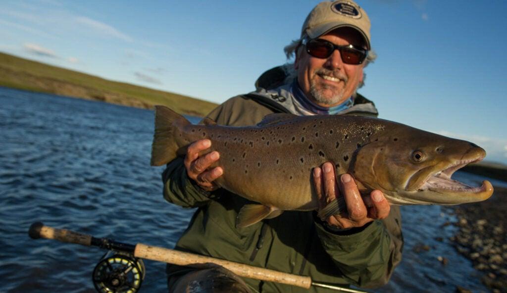 trout fishing rio grande
