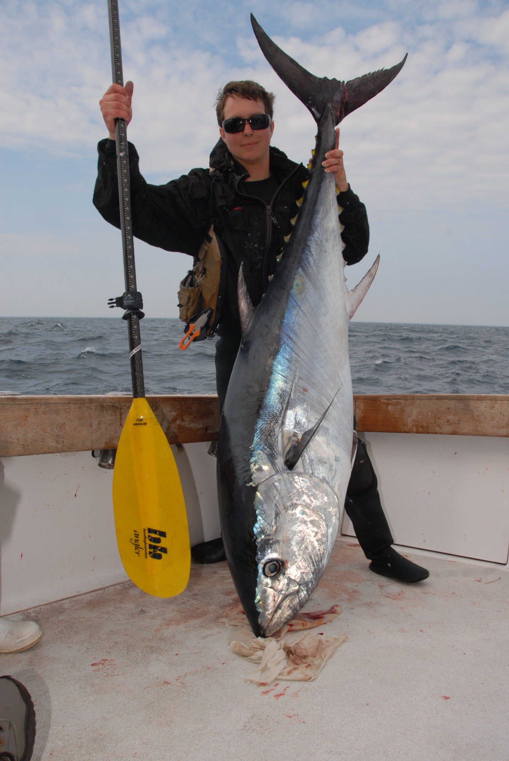 The Biggest Tuna Ever Caught (From a Kayak)